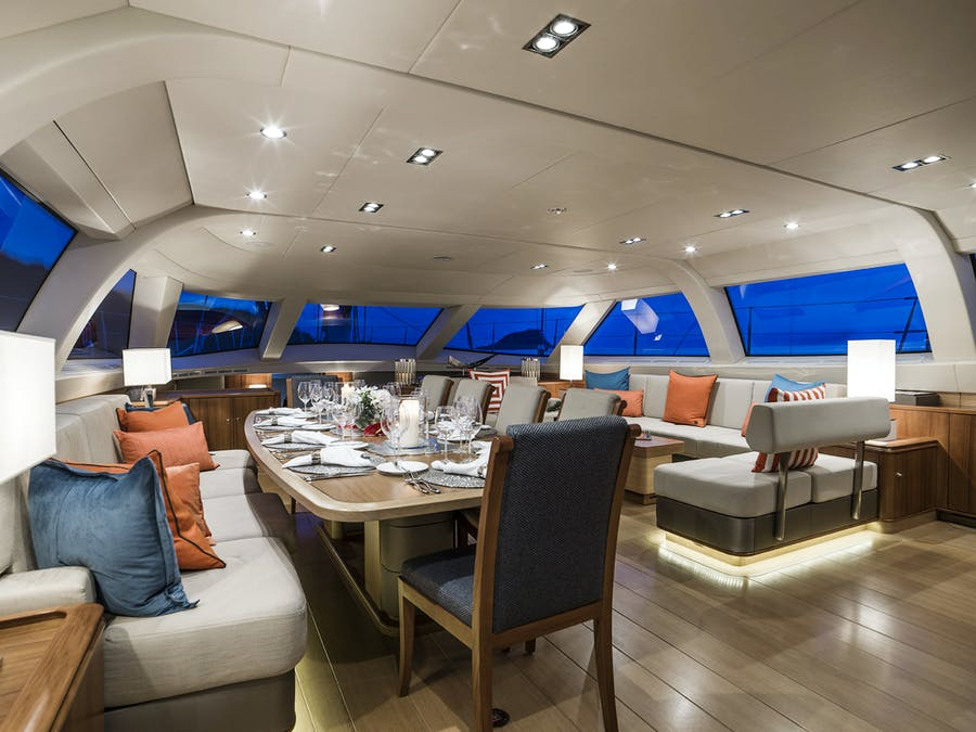 Tendar & Toys for TWILIGHT Private Luxury Yacht For charter