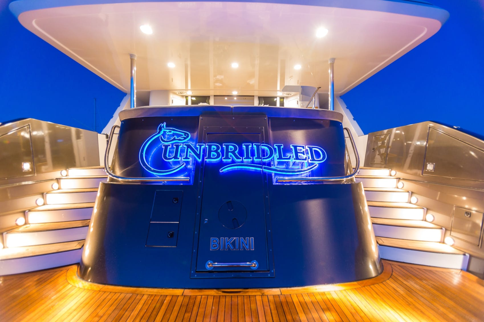 Seasonal Rates for UNBRIDLED Private Luxury Yacht For Charter