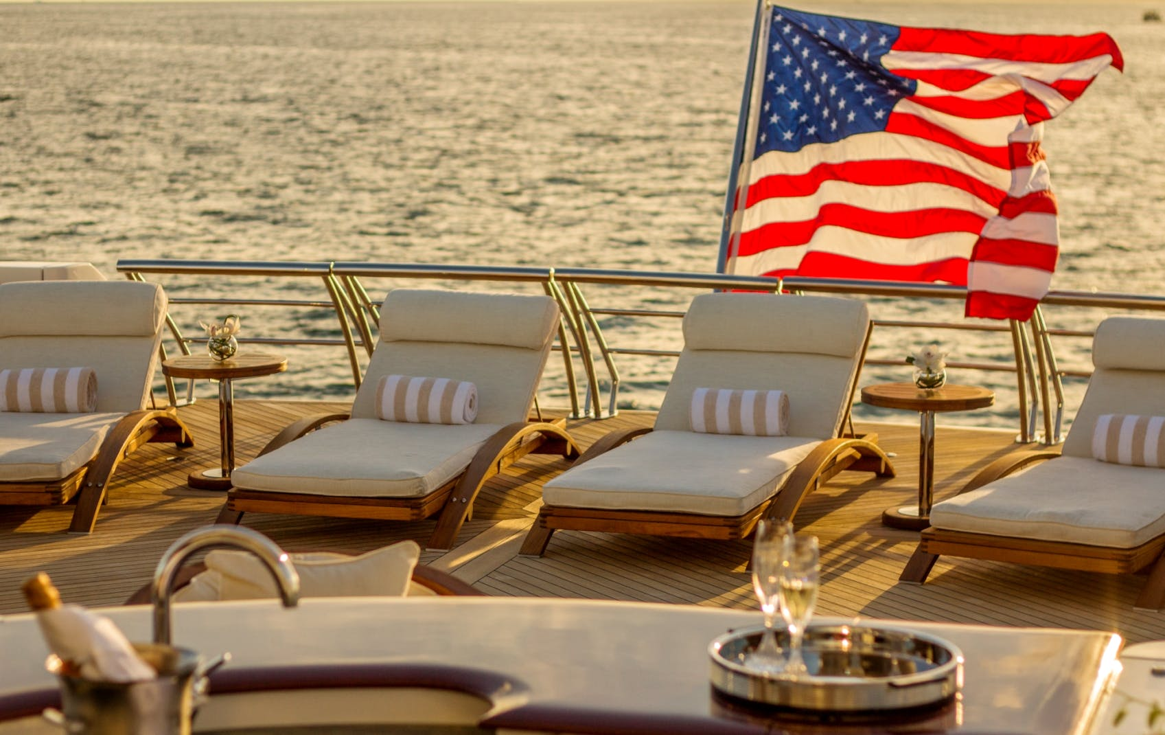 Seasonal Rates for USHER Private Luxury Yacht For Charter