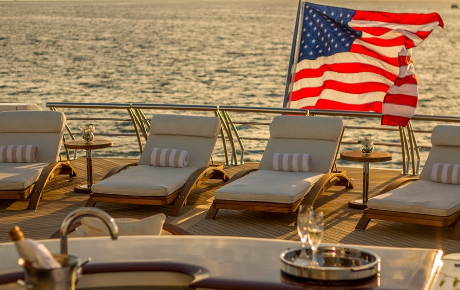Features for USHER Private Luxury Yacht For charter
