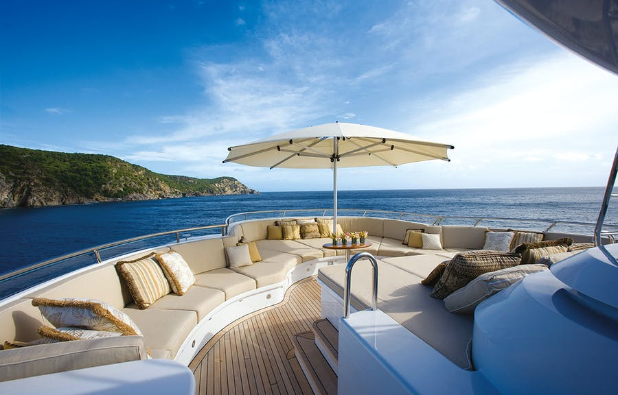 Seasonal Rates for UTOPIA Private Luxury Yacht For Charter
