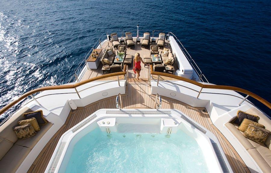 Tendar & Toys for UTOPIA Private Luxury Yacht For charter