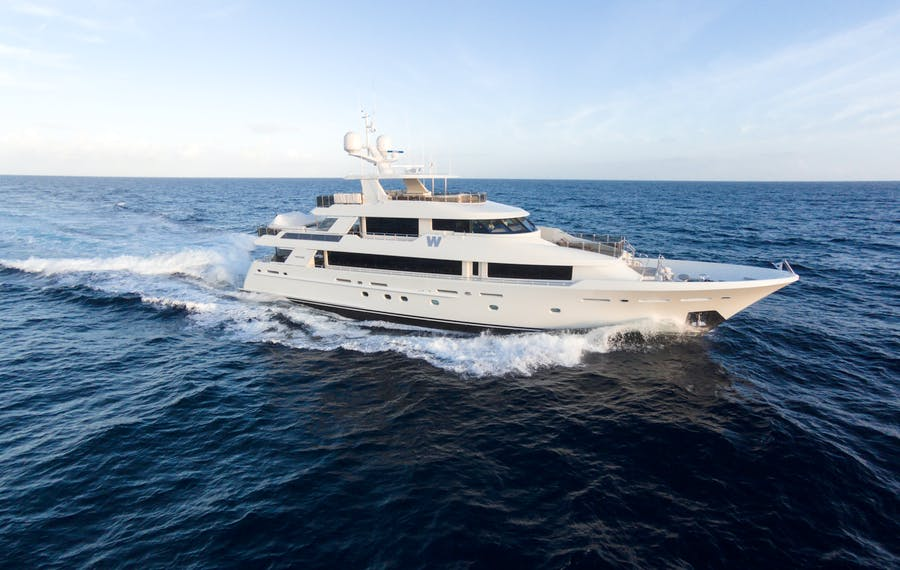 Seasonal Rates for W Private Luxury Yacht For Charter