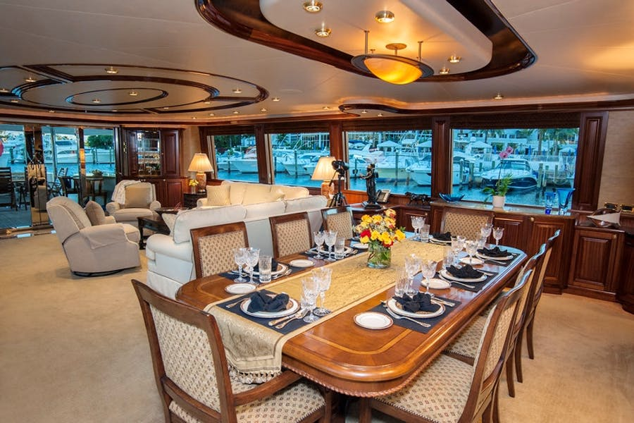 Features for WILD KINGDOM Private Luxury Yacht For charter
