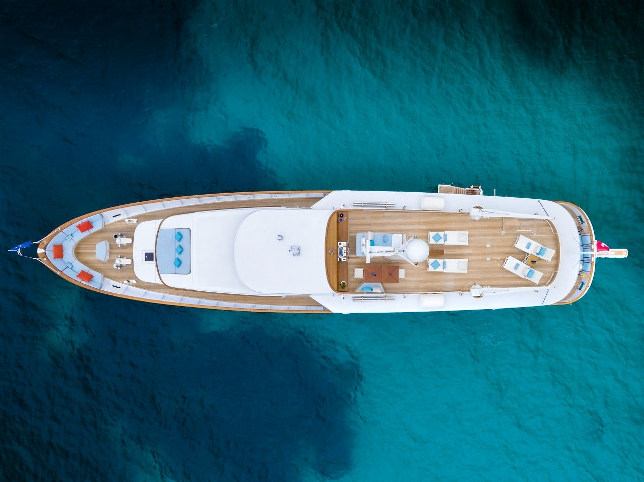 Seasonal Rates for VESPUCCI Private Luxury Yacht For Charter