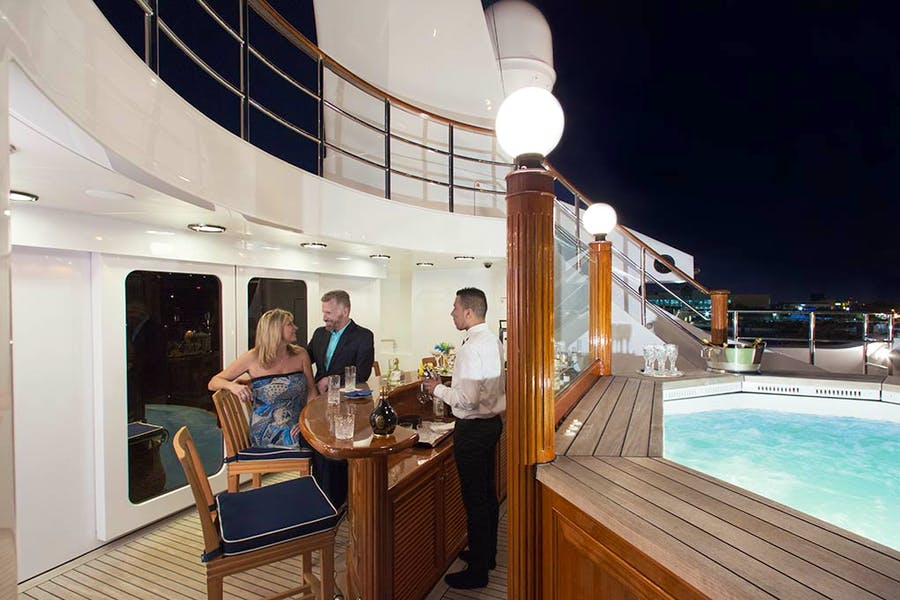 Tendar & Toys for FREEDOM Private Luxury Yacht For charter