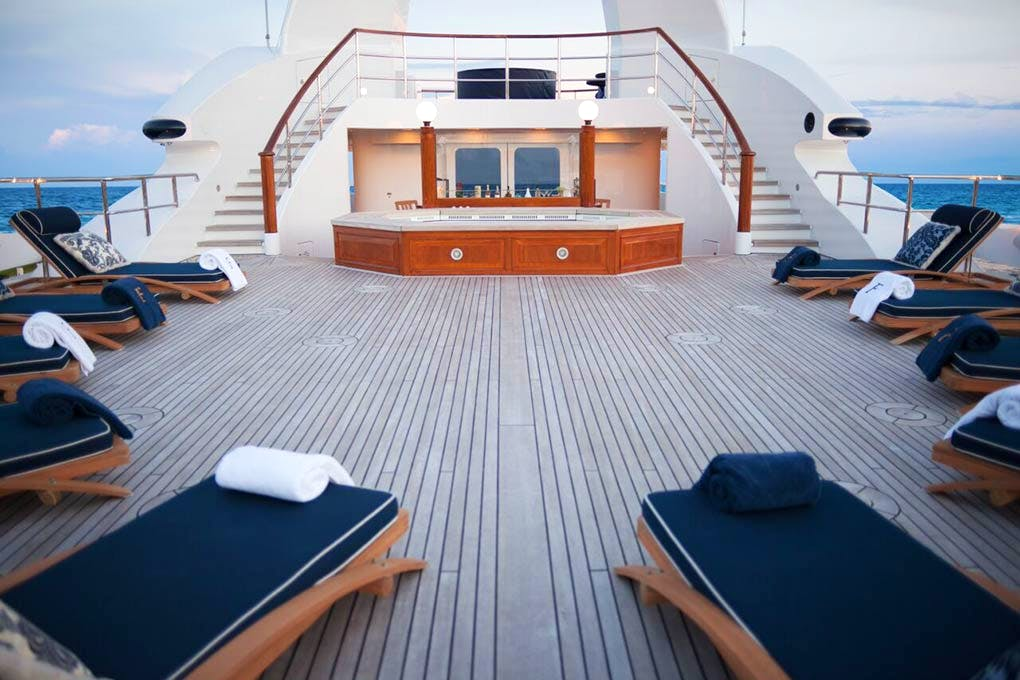 Seasonal Rates for FREEDOM Private Luxury Yacht For Charter