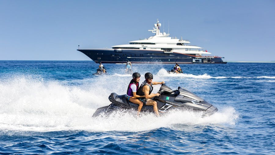 Tendar & Toys for NIRVANA Private Luxury Yacht For charter