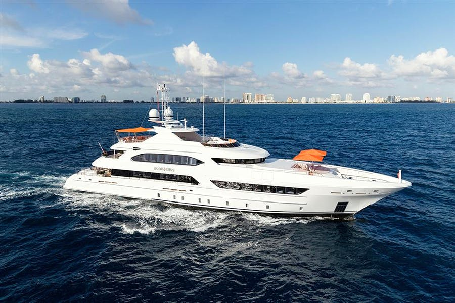 Details for BOOK ENDS Private Luxury Yacht For sale