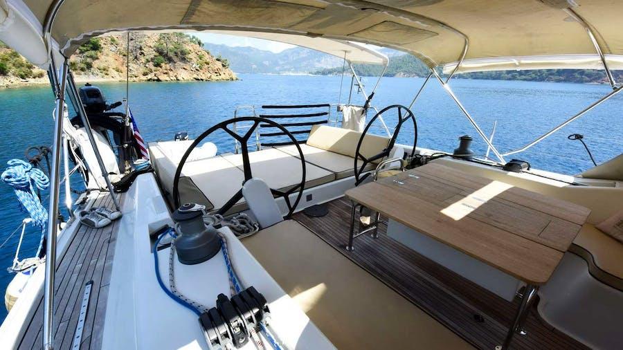 OCEAN BLUE Yacht