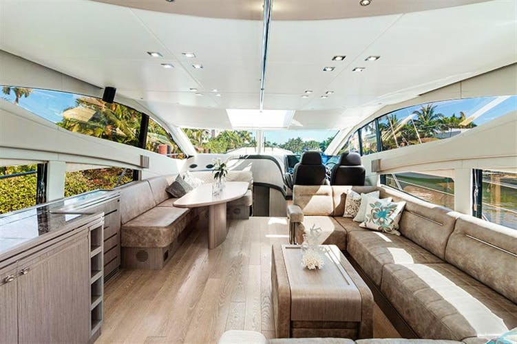 LONG WAY ROUND Yacht for Sale | 71 SUNSEEKER 2014