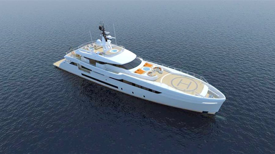 Wider 165 Yacht