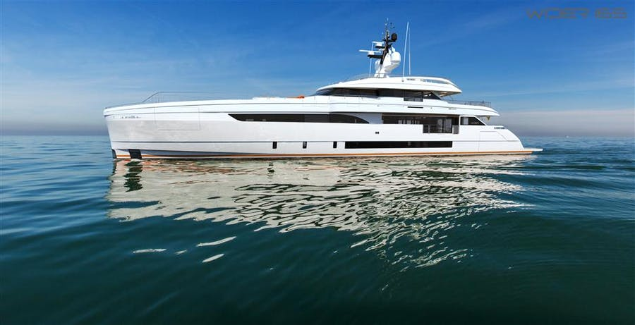 Features for Wider 165 Private Luxury Yacht For sale