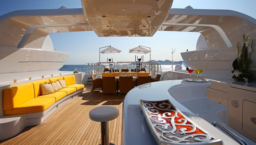 Tendar & Toys for PLATINUM Private Luxury Yacht For charter