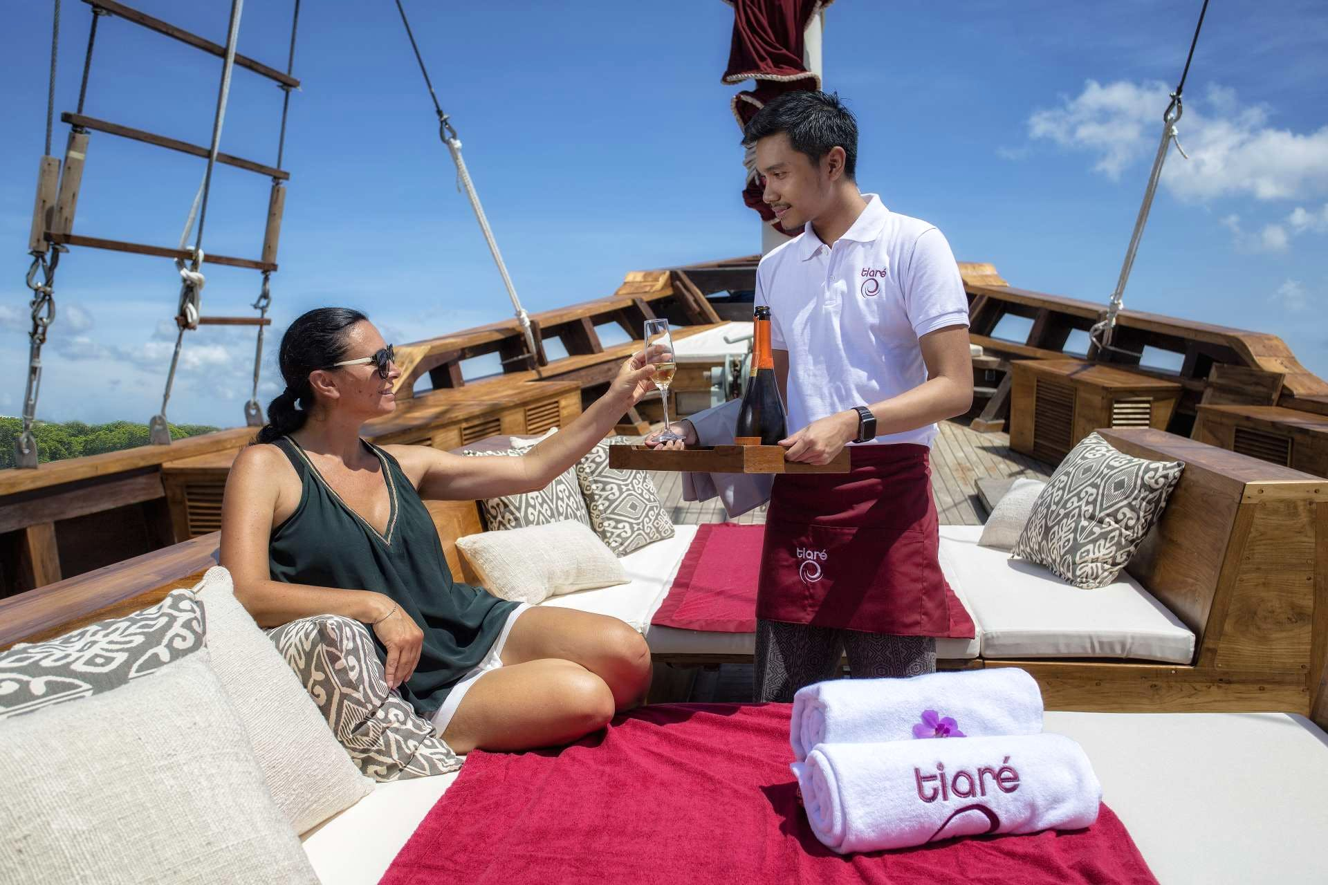Seasonal Rates for TIARE Private Luxury Yacht For Charter