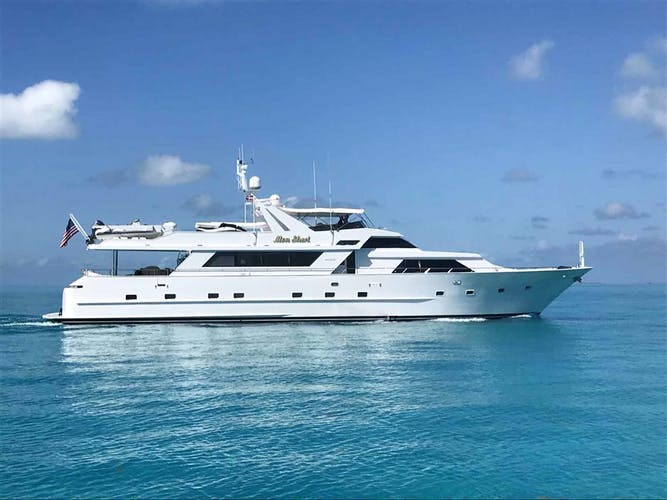 MON SHERI Yacht for Sale | 105 BROWARD 1990