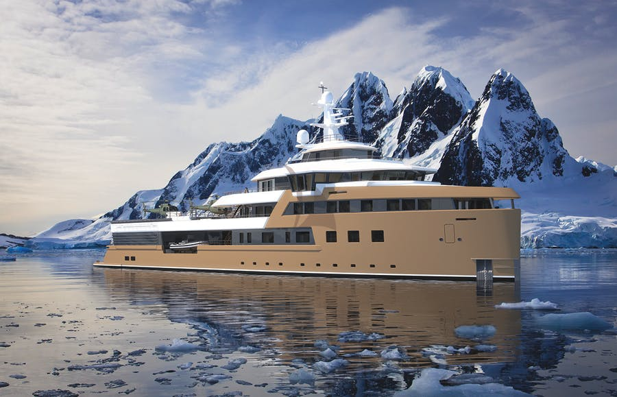 Tendar & Toys for LA DATCHA Private Luxury Yacht For charter