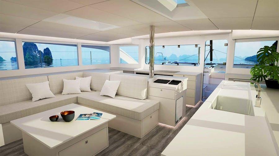 VOYAGE 590 Yacht