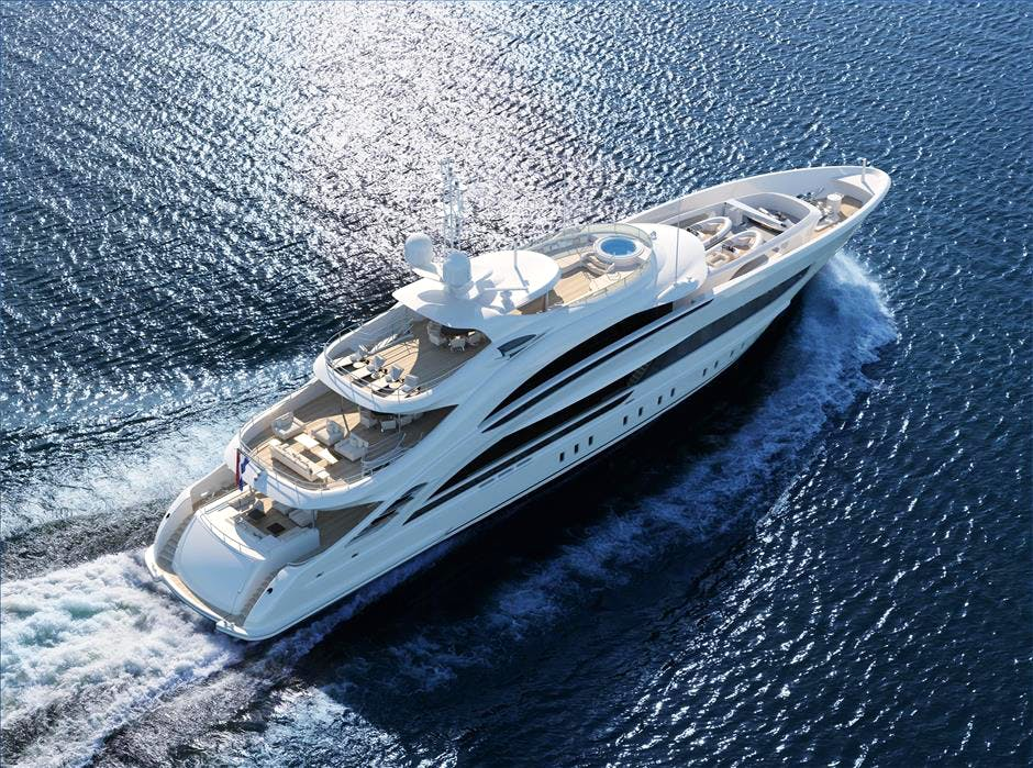 Heesen 50m Steel YN 18850 Project Triton Yacht for Sale