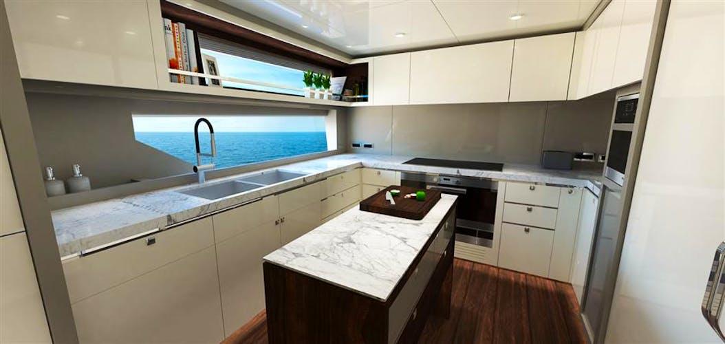 JOHNSON 115 SKYLOUNGE w/FB Yacht for Sale | 115 JOHNSON 2019