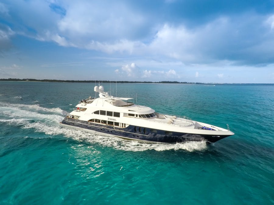 Features for REBEL Private Luxury Yacht For sale