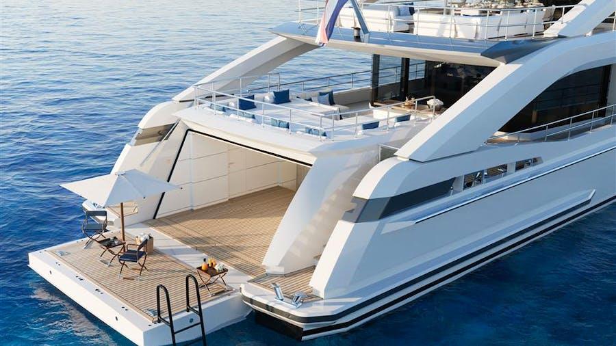 Heesen 5000 Aluminium YN 18950 Project Aquamarine Yacht