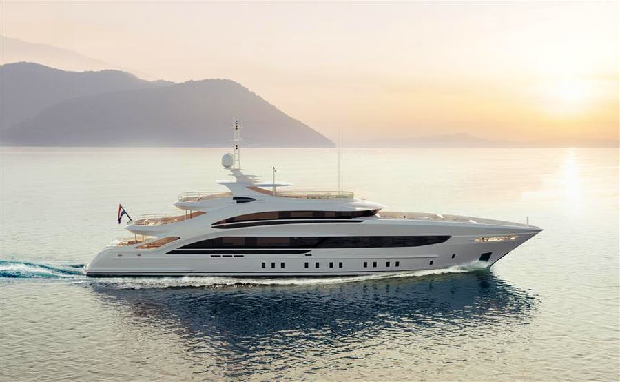 Details for Heesen 50m Steel YN 18850 Project Triton Private Luxury Yacht For sale