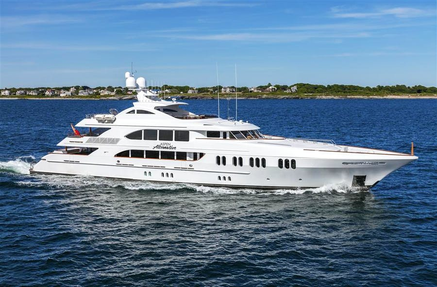 Details for ASPEN ALTERNATIVE Private Luxury Yacht For sale