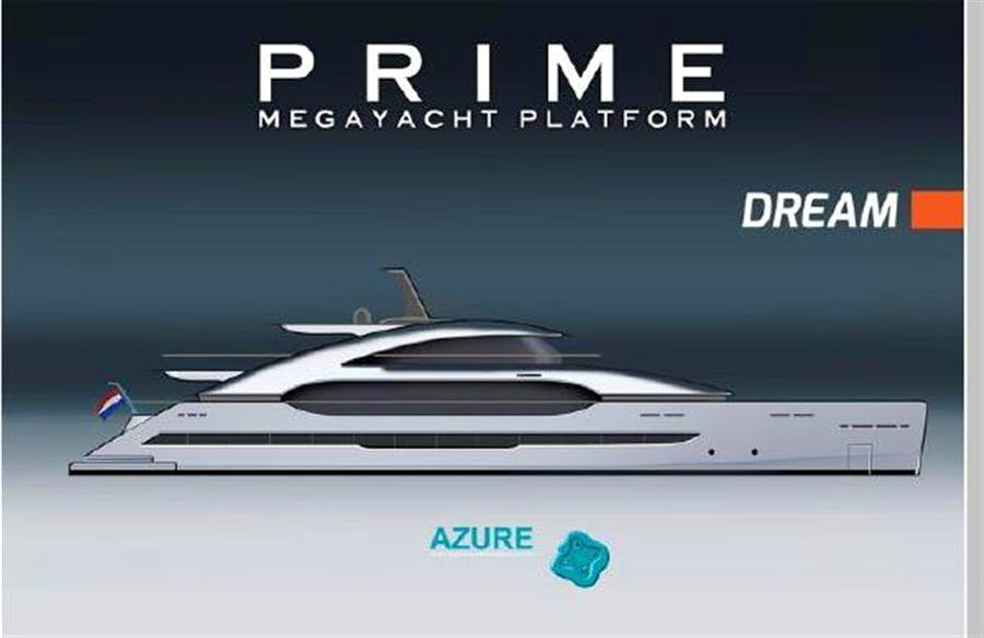 Details for 162' PRIME Megayacht Platform DREAM Private Luxury Yacht For sale