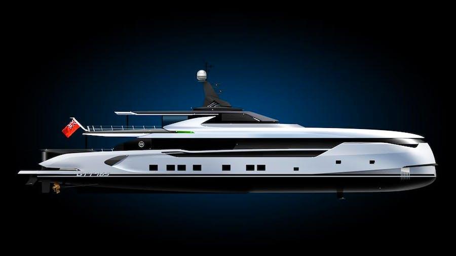 GTT165 Yacht
