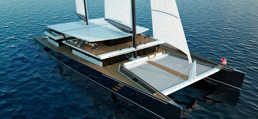 Features for SEA VOYAGER 223 Private Luxury Yacht For sale