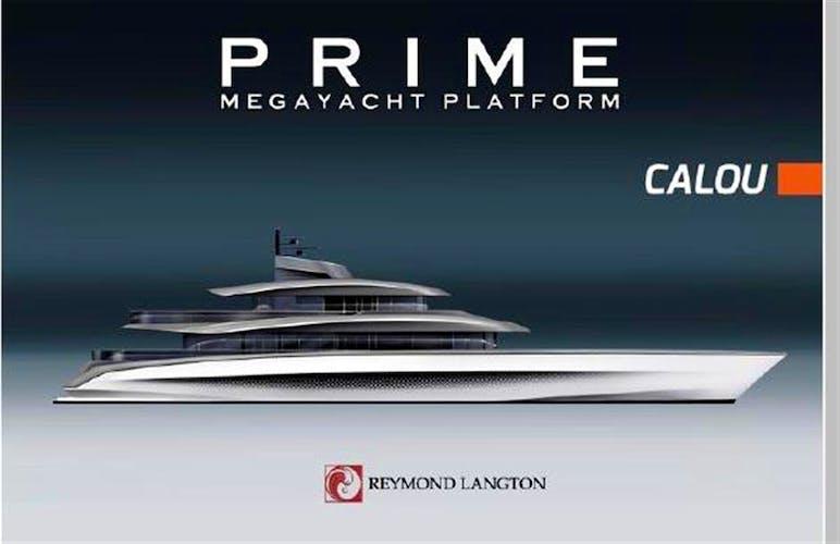 162' PRIME Megayacht Platform CALOU Yacht