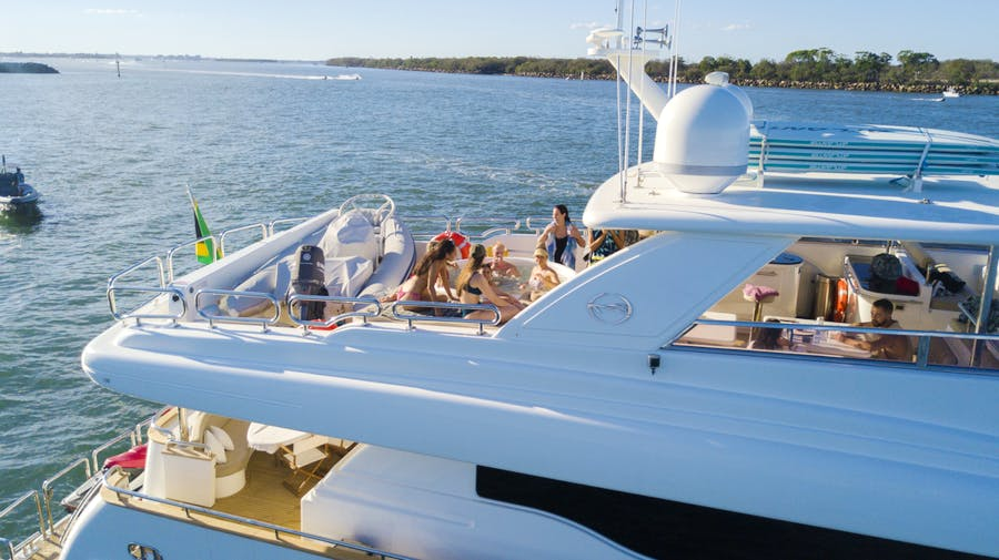 Features for TRIPLE 888 EIGHT Private Luxury Yacht For charter