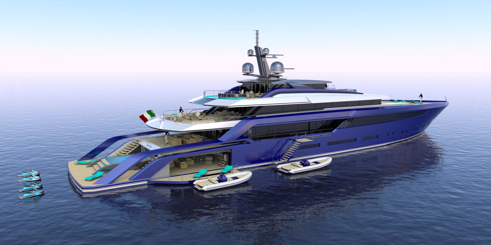 BEYOND 72M Yacht for Sale | 236 Concept 2022