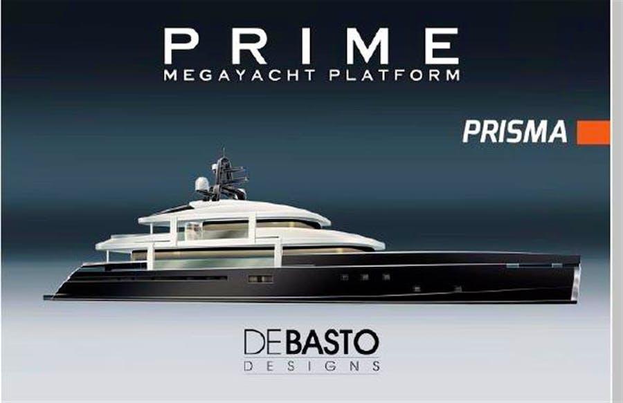 Details for 162' PRIME Megayacht Platform PRISMA Private Luxury Yacht For sale