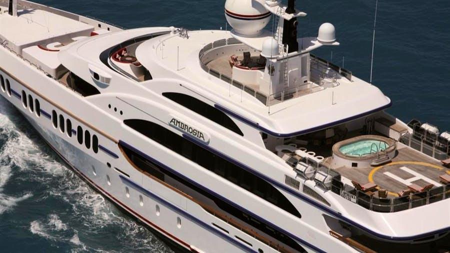 AMBROSIA Hybrid ABB Azipod Yacht