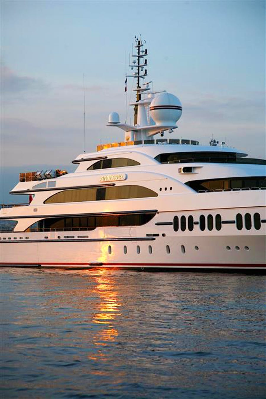 Details for AMBROSIA HYBRID ABB AZIPOD Private Luxury Yacht For sale