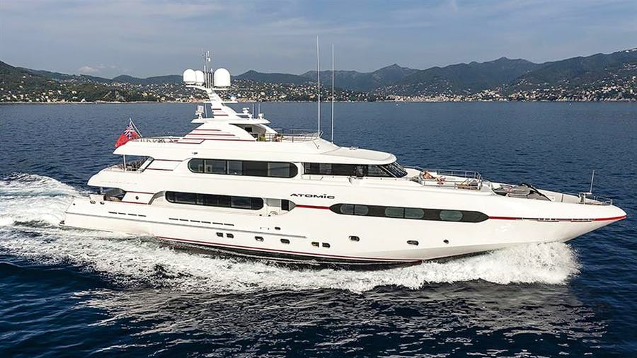 Details for ATOMIC Private Luxury Yacht For sale