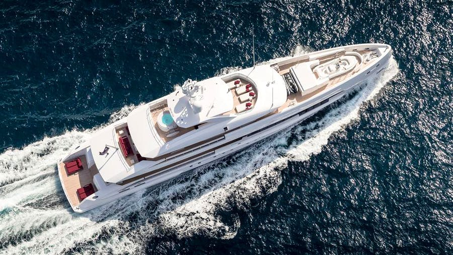 Heesen 5000 Hybrid YN 19150 Project Electra Yacht