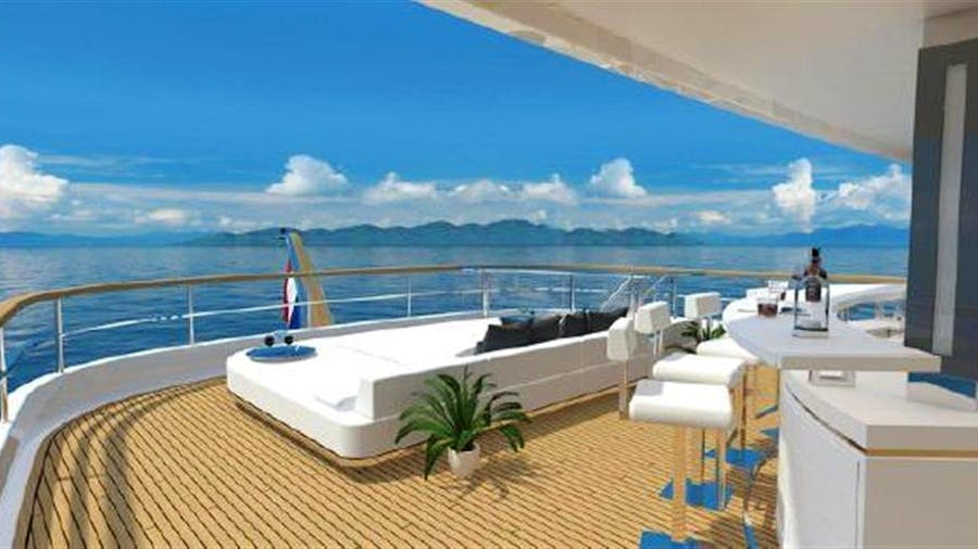 162' PRIME Megayacht Platform PRISMA Yacht