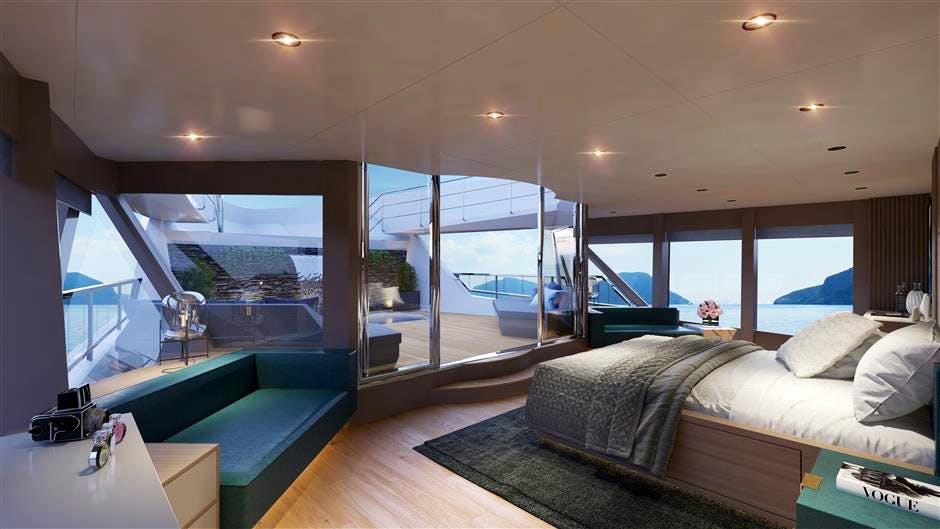 45XP Hull #1 Yacht