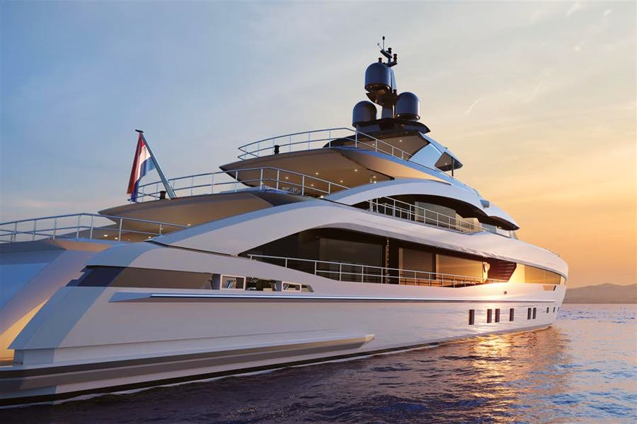 Details for HEESEN 5000 ALUMINIUM YN 18950 PROJECT AQUAMARINE Private Luxury Yacht For sale