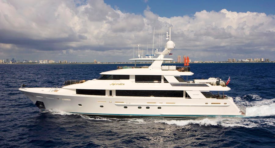 Details for APHRODITE Private Luxury Yacht For sale