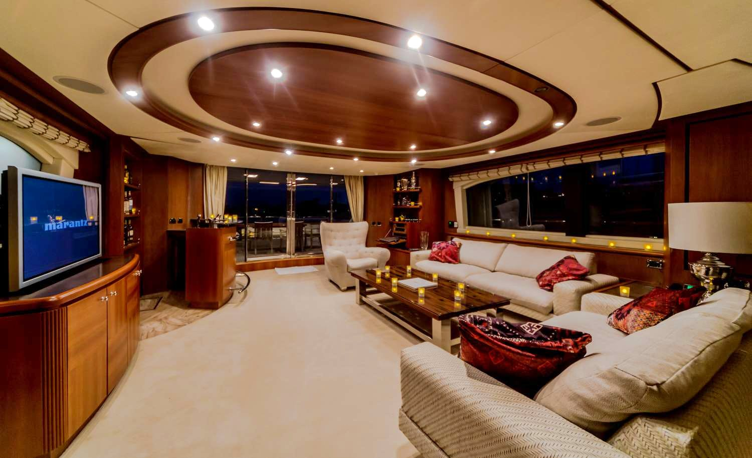 Seasonal Rates for ANTONIA II Private Luxury Yacht For Charter