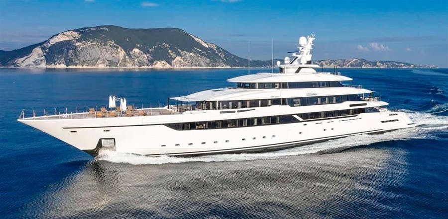 Details for DRAGON Private Luxury Yacht For sale