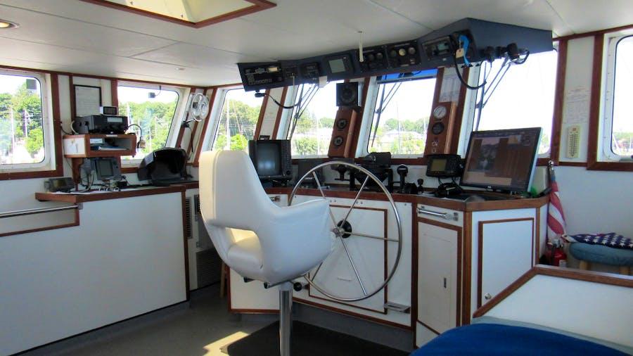 KITTIWAKE Yacht for Sale   75 Washburn & Doughty 2002