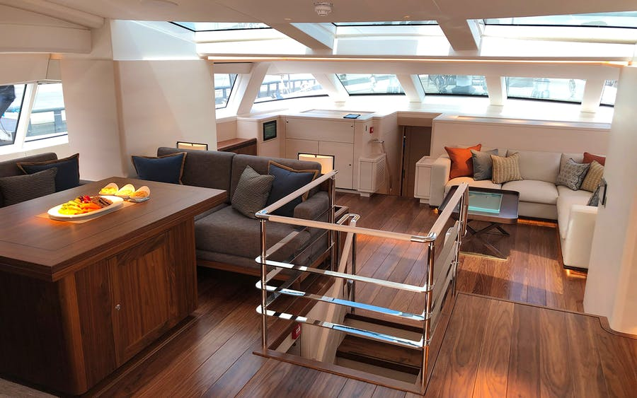 Features for ARCHELON Private Luxury Yacht For charter