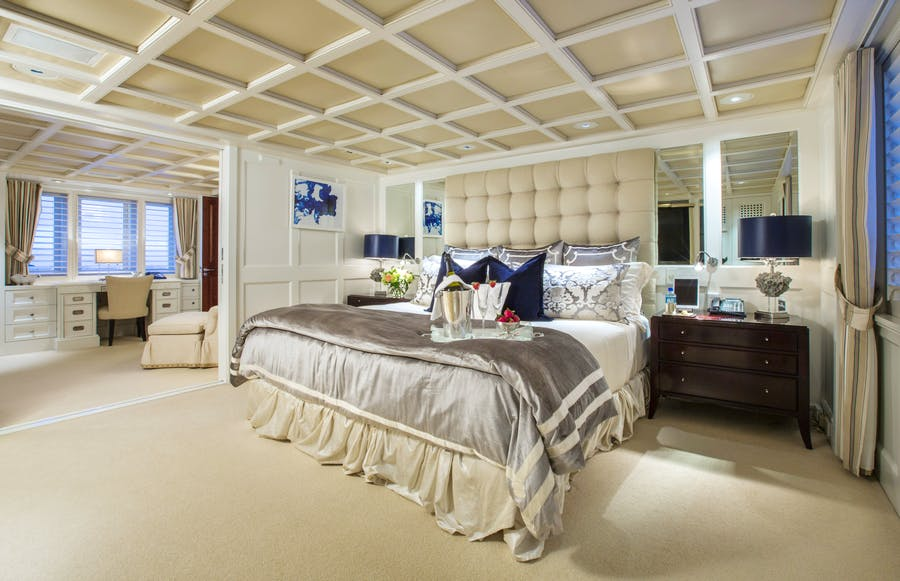 Features for RHINO Private Luxury Yacht For charter