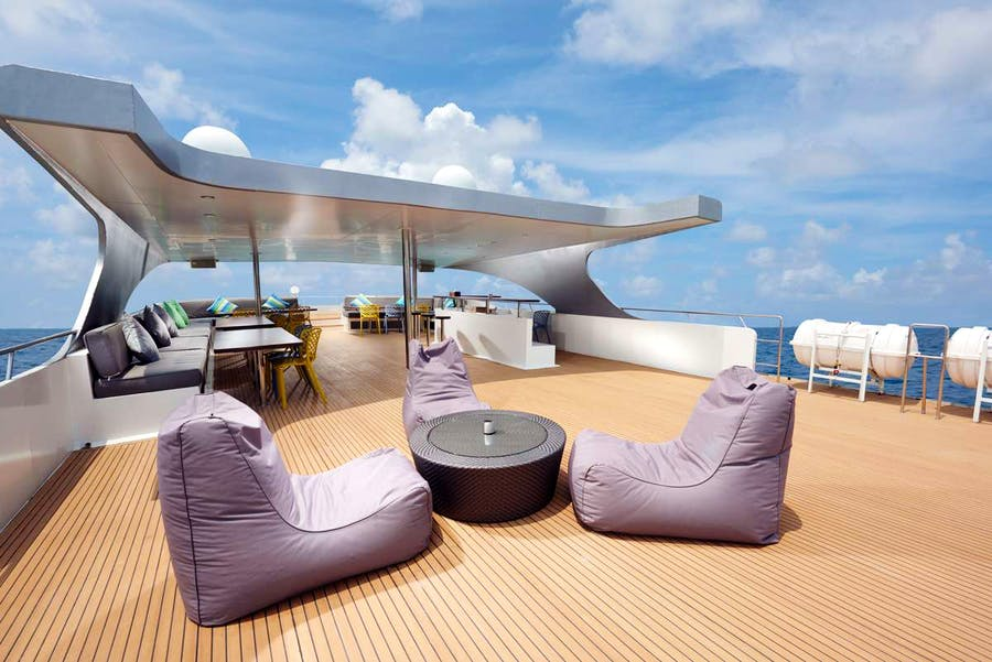 Features for GAIA LOVE Private Luxury Yacht For charter
