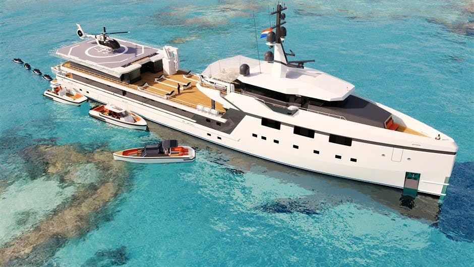 Yacht Support 7512 Yacht